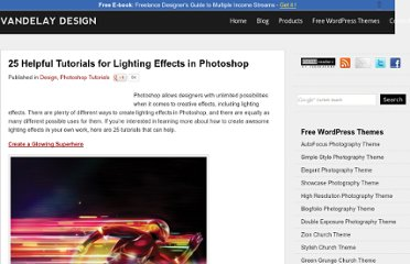 http://vandelaydesign.com/blog/design/helpful-lighting-effects-tutorials/
