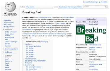 http://de.wikipedia.org/wiki/Breaking_Bad