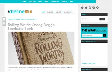 http://www.thedieline.com/blog/2012/4/3/rolling-words-snoop-doggs-smokable-book.html