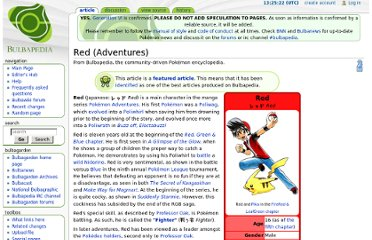 http://bulbapedia.bulbagarden.net/wiki/Red_(Adventures)