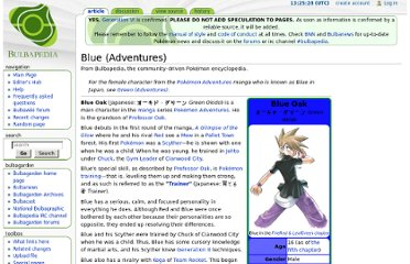 http://bulbapedia.bulbagarden.net/wiki/Blue_(Adventures)