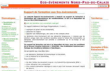 http://www.eco-evenements-npdc.org/doku.php?id=support_de_formation_aux_eco-evenements