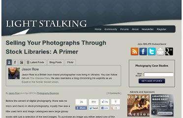 http://www.lightstalking.com/selling-your-photographs-through-stock-libraries