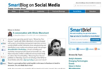 http://smartblogs.com/social-media/2009/11/17/a-conversation-with-olivier-blanchard/