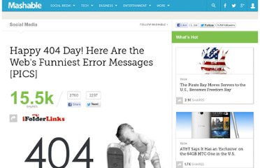 http://mashable.com/2012/04/04/funny-404-error-messages/