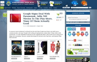 http://www.androidpolice.com/2012/04/04/google-signs-deal-with-paramount-adds-500-movies-to-the-play-store-many-of-them-actually-good/