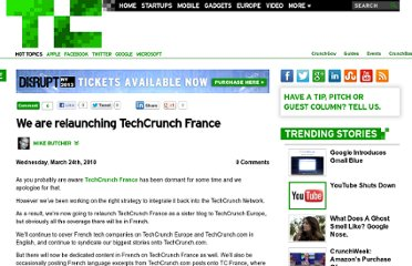 http://techcrunch.com/2010/03/24/we-are-relaunching-techcrunch-france/