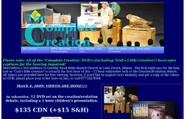 http://completecreation.org/videos.html