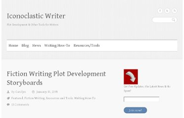 http://iconoclasticwriter.com/fiction-writing-plot-development-storyboards/