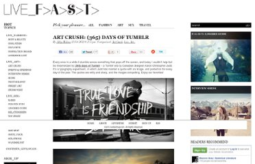 http://livefastmag.com/2012/02/art-crush-365-days-of-tumblr/