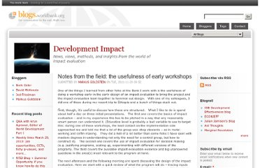 http://blogs.worldbank.org/impactevaluations/notes-from-the-field-the-usefulness-of-early-workshops