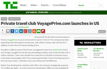 http://techcrunch.com/2010/03/02/private-travel-club-voyageprive-com-launches-in-the-us/