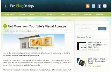 http://www.problogdesign.com/blog-layout/get-more-from-your-sites-visual-acreage/