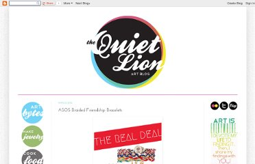 http://quietlioncreations.blogspot.com/2012/03/asos-braided-friendship-bracelets.html