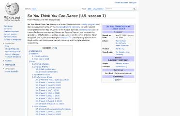 http://en.wikipedia.org/wiki/So_You_Think_You_Can_Dance_(U.S._season_7)
