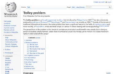 http://en.wikipedia.org/wiki/Trolley_problem