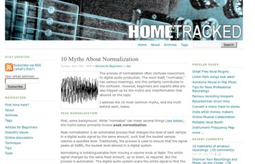 http://www.hometracked.com/2008/04/20/10-myths-about-normalization/