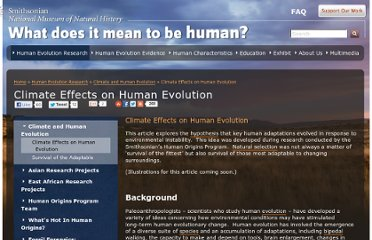 http://humanorigins.si.edu/research/climate-research/effects