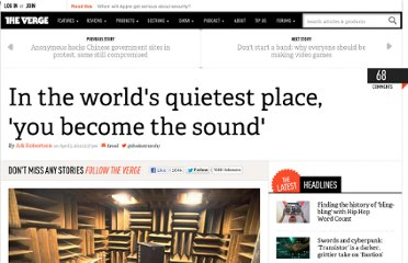 http://www.theverge.com/2012/4/5/2927823/orfield-laboratories-worlds-quietest-place
