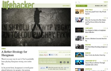 http://lifehacker.com/5898720/a-better-strategy-for-hangman
