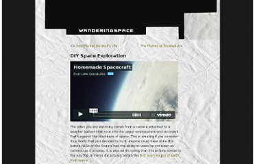 http://wanderingspace.net/2010/10/diy-space-exploration/