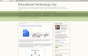 http://educationaltechnologyguy.blogspot.com/2012/04/52-google-docs-secrets-for-students.html
