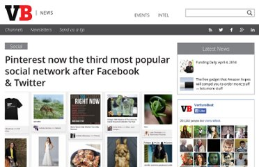 http://venturebeat.com/2012/04/05/pinterest-third-most-popular-social-network/