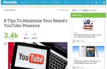 http://mashable.com/2012/04/05/brands-youtube-presence-tips/