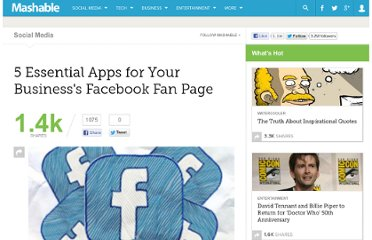 http://mashable.com/2010/03/28/facebook-business-apps/
