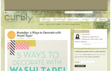 http://www.curbly.com/users/capreek/posts/13638-roundup-5-ways-to-decorate-with-washi-tape