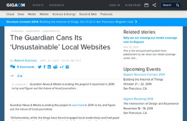 http://paidcontent.org/2011/04/27/419-the-guardian-cans-its-unsustainable-local-experiment/