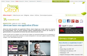 http://www.presse-citron.net/about-me-lance-son-application-iphone