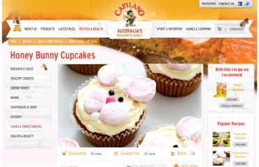 http://capilano.com.au/recipe/honey-bunny-cupcakes/