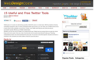 http://www.webdesigncore.com/2012/04/06/15-useful-and-free-twitter-tools/