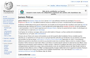 http://fr.wikipedia.org/wiki/James_Petras