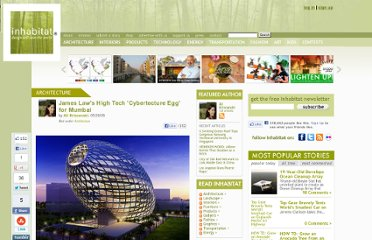 http://inhabitat.com/james-law-high-tech-cybertechture-egg-for-mumbai/