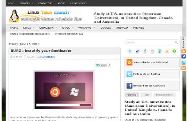 http://linux-software-news-tutorials.blogspot.com/2010/06/burgbeautify-your-bootloader.html