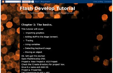 http://flashdeveloptutorial.blogspot.com/2011/08/chapter-1-basics.html