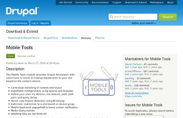 http://drupal.org/project/mobile_tools