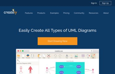 http://creately.com/Draw-UML-and-Class-Diagrams-Online