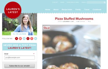http://www.laurenslatest.com/pizza-stuffed-mushrooms/