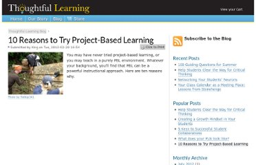 http://www.thoughtfullearning.com/blogpost/10-reasons-try-project-based-learning