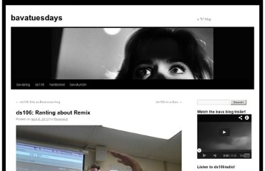 http://bavatuesdays.com/ds106-ranting-about-remix/