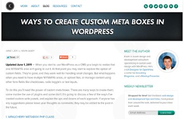 http://www.kevinleary.net/ways-create-custom-meta-boxes-wordpress/