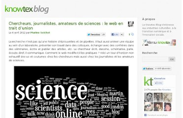 http://www.knowtex.com/blog/chercheurs-journalistes-amateurs-sciences-web/