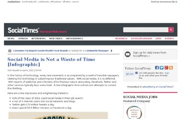 http://socialtimes.com/social-media-is-not-a-waste-of-time-infographic_b93638