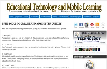 http://www.educatorstechnology.com/2012/04/free-tools-to-create-and-administer.html