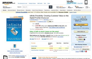 http://www.amazon.co.uk/Infinite-Possibility-Creating-Customer-Frontier/dp/160509563X