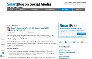 http://smartblogs.com/social-media/2009/12/10/andys-answers-why-its-ok-if-not-every-wom-campaign-is-a-hit/