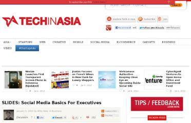 http://www.techinasia.com/slides-social-media-basics-for-executives/